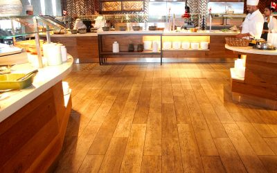 Want The Look Of A Hardwood Floor Without The Expense?